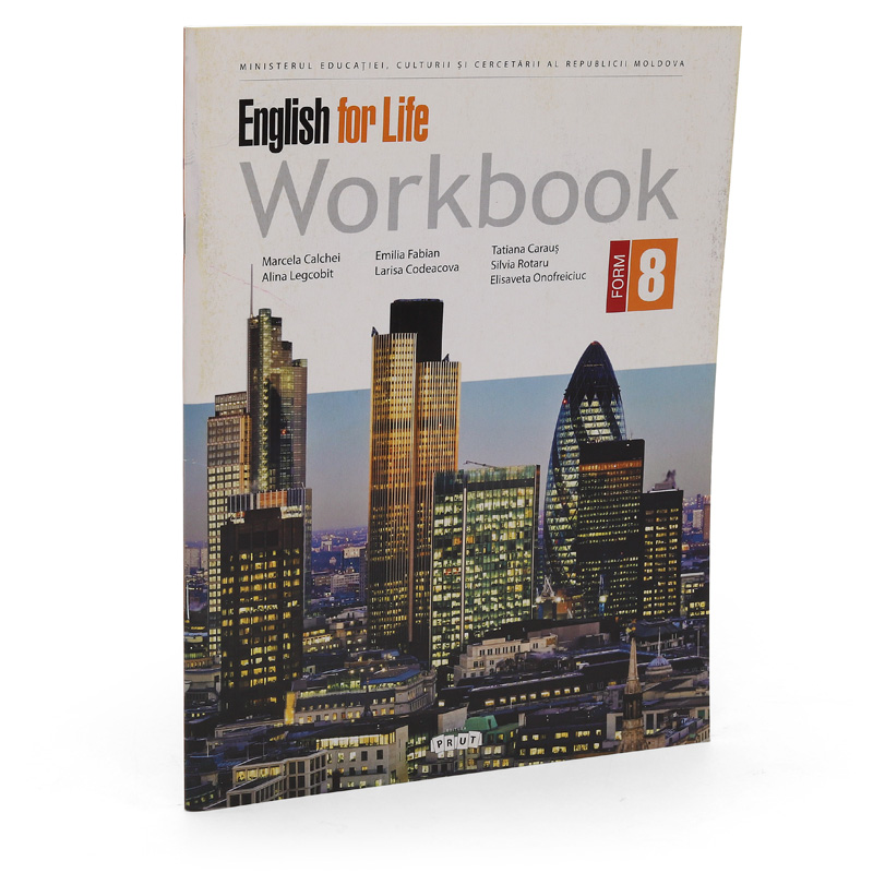 English for life. Workbook form 8