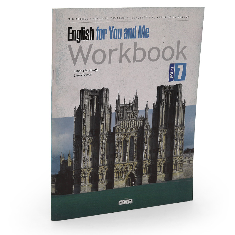 English for You and Me. Workbook form 7
