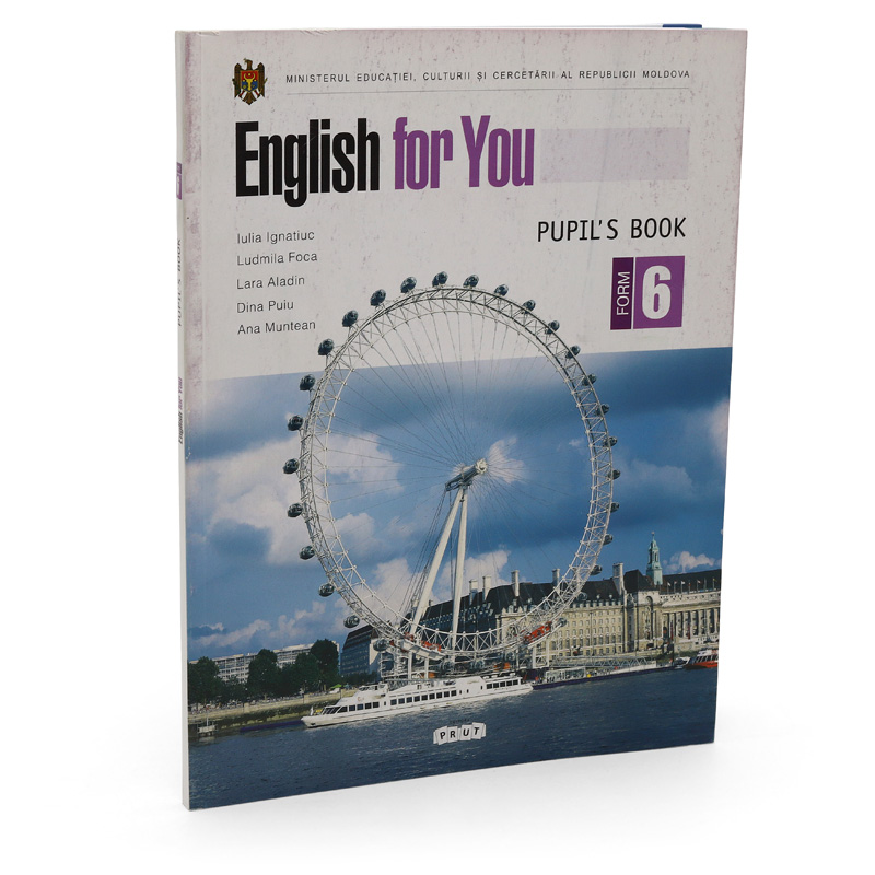 English for you. Workbook form 6