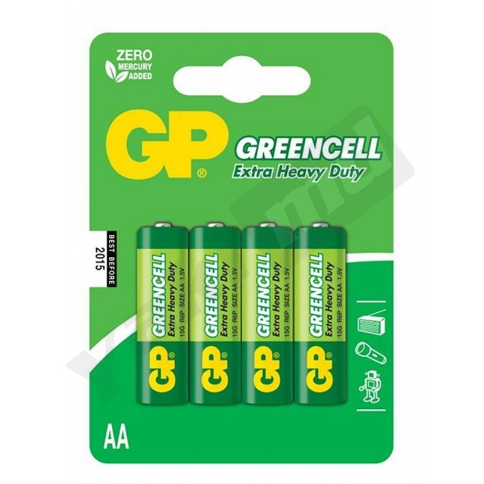 Baterie GP AA Greencell