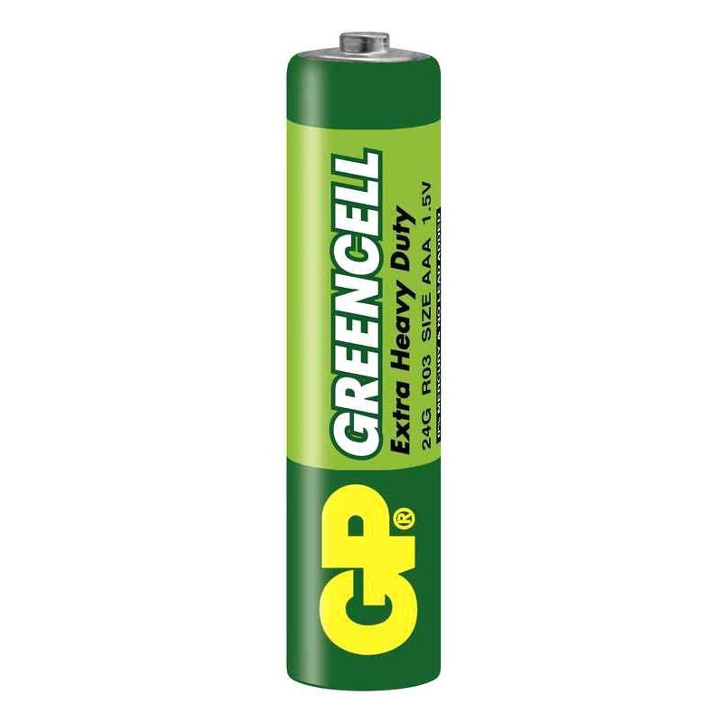 Baterie GP AAA Greencell  (blister 4 buc)