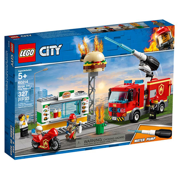 LEGO City Stingerea incendiului de la Burger Bar