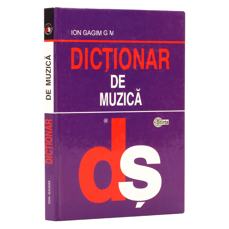 Dictionar de muzica (cart.) Gajim Ion.