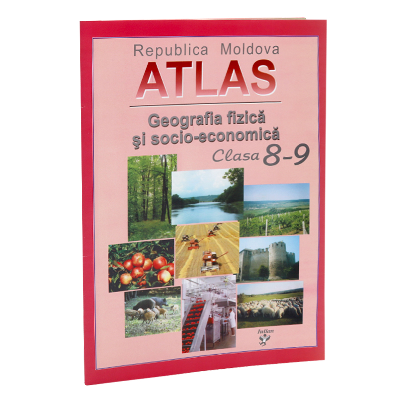 Atlas geografic cl.8-9.
