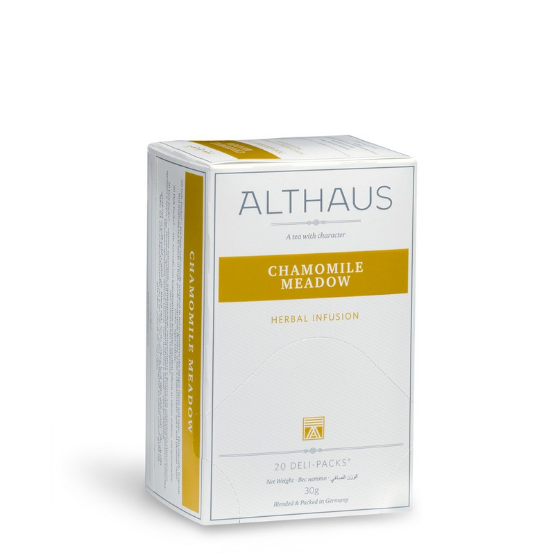 Ceai  ALTHAUS Chamomile Meadow, musetel, 20 x 1,75 gr.