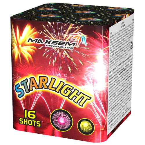 Focul de artificiu Starlight 16 focuri GP497