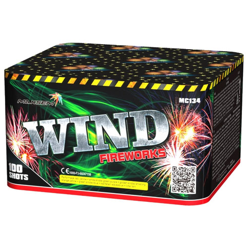 Focul de artificiu Wind 100 focuri MC134
