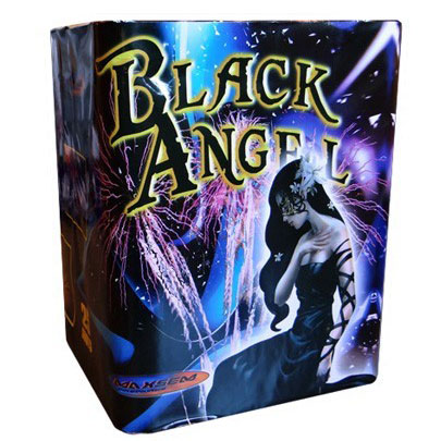 Focul de artificiu Black angel 25 focuri GWM6251
