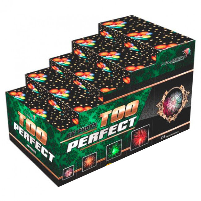 Focul de artificiu Too Perfect 66 focuri GWM 6605