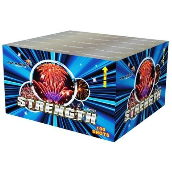 Focul de artificiu Strength 100 focuri GP508