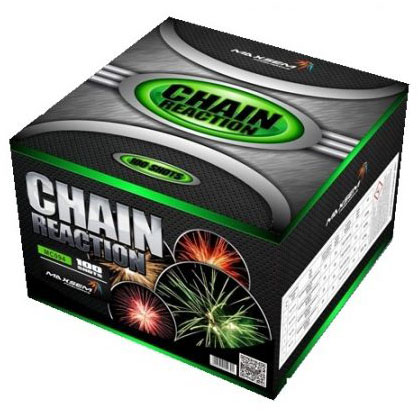 Focul de artificiu Chain Reaction G 100 focuri MC094