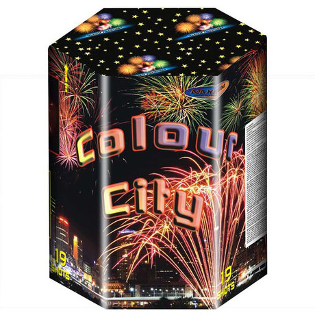 Focul de artificiu Colour city 19 focuri MC200-19