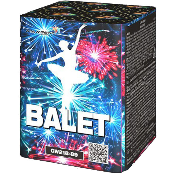Focul de artificiu Balet 10 focuri GW218-89