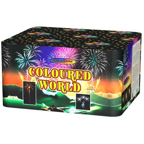 Focul de artificiu Coloured world 120 focuri GWM6121