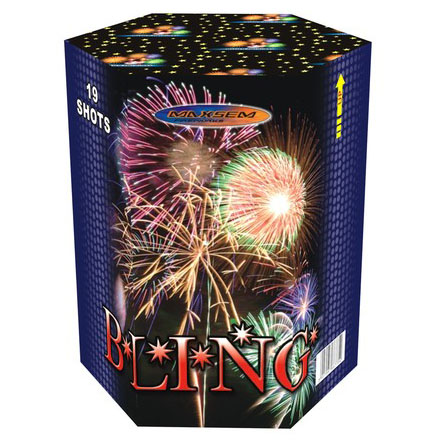 Focul de artificiu Bling 19 focuri GP511