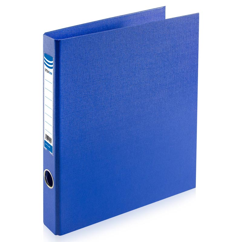 Biblioraft A4/2D/35 mm, OfficeLine, PVC, DARK BLUE, ALBASTRU
