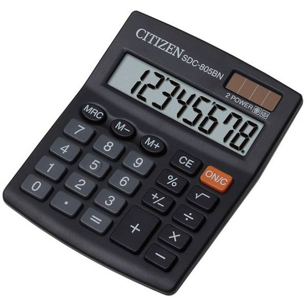 Calculator Citizen SDC 805 BN