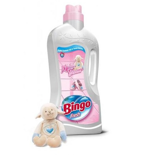 Solutie p/u spalarea podelelor BINGO Fresh, 1000 ml., Happy Home
