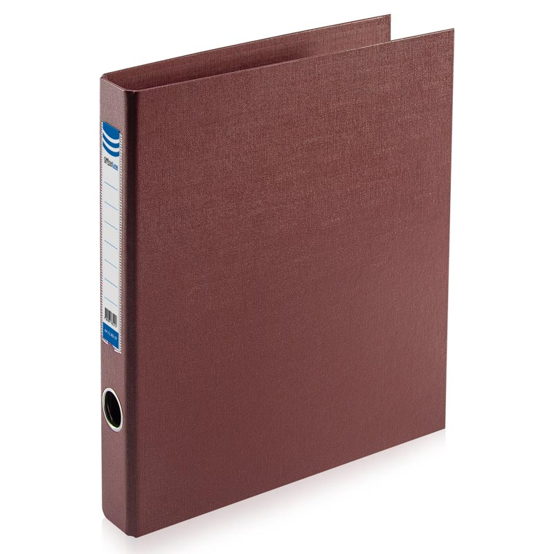 Biblioraft A4/2D/35mm, OfficeLine, PVC, bordo