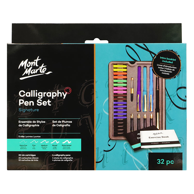 Calligraphy Pen Set 32 piese